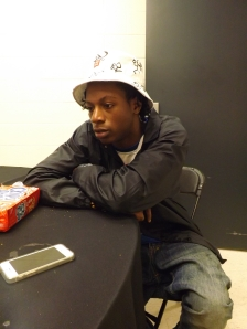 Joey Bada$$ sits down with Pulse Feedz before he performs.