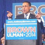 Lt. Gov. and Democratic candidate Anthony Brown