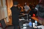 DJ Freeze on the 1s and 2s (Jessie Karangu/Pulsefeedz)