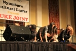 Dancers perform during University of Maryland's annual Homecoming Juke Joint (Lauryn Froneberger/Pulsefeedz)