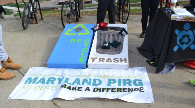 UMD Participates in America Recycles Day