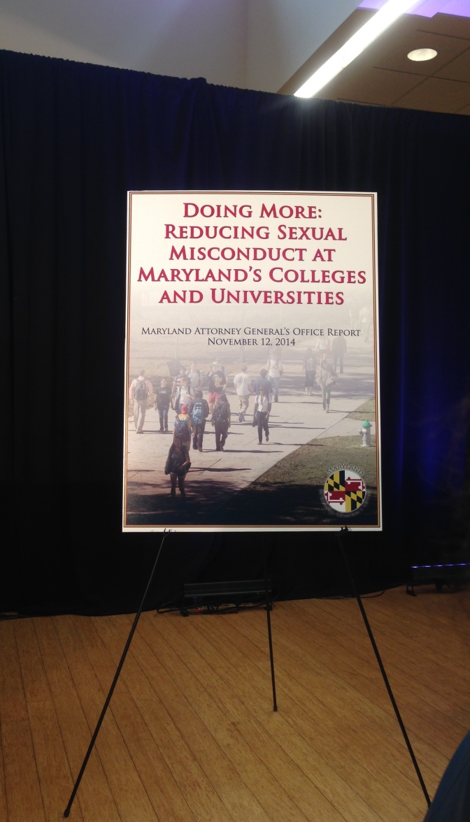 Addressing Sexual Misconduct at the University of Maryland