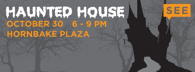Hornbake Plaza Gets Scary This Halloween