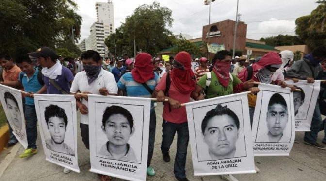43 Mexican students abducted, possibly massacred