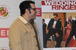 """Frozen"" and ""The Wedding Ringer"" star Josh Gad. November 1, 2014. (Lauryn Froneberger/ Pulsefeedz)"
