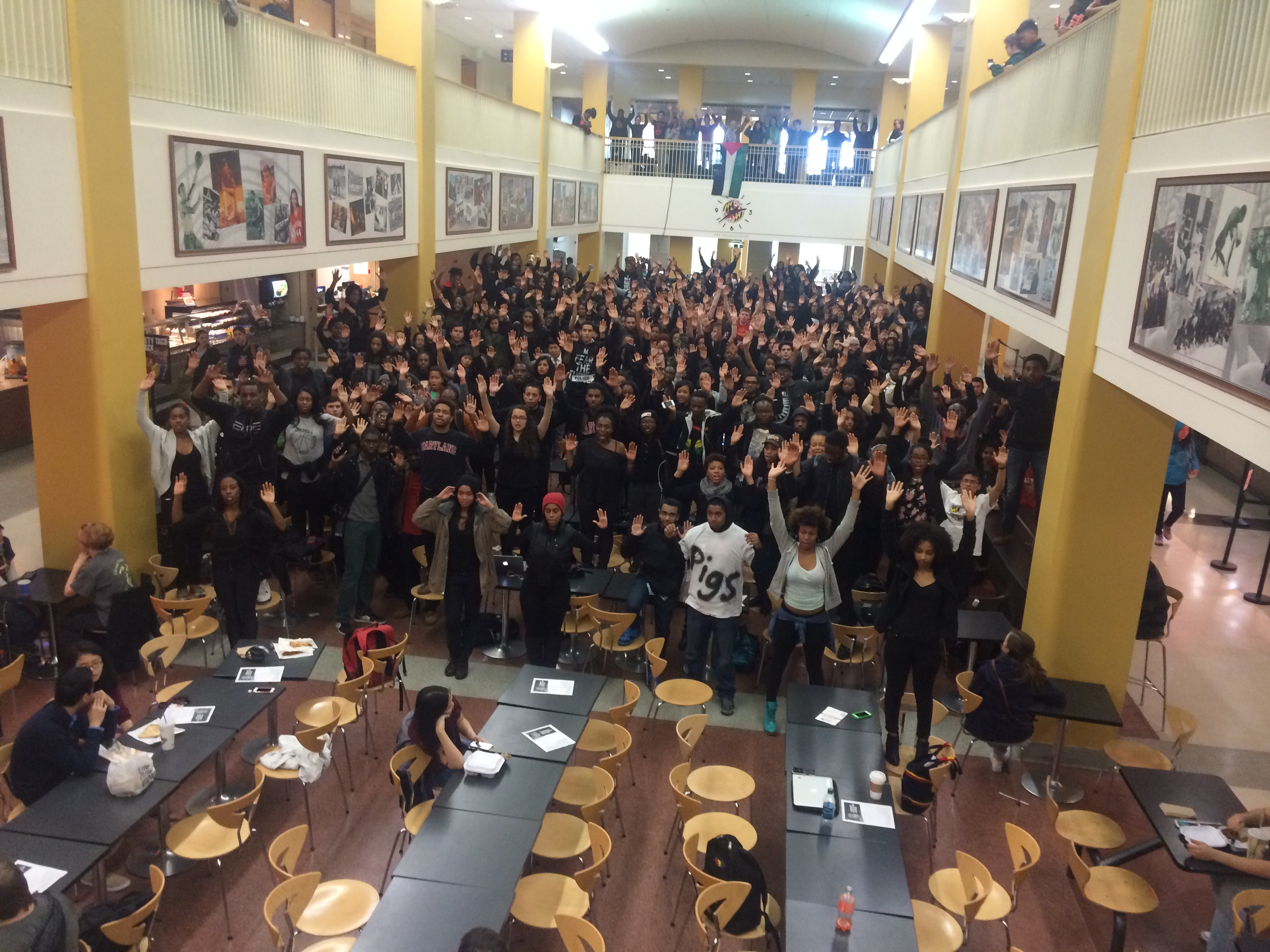 UMD Students #OCCUPYSTAMP (PICTURES, VIDEO AND AUDIO