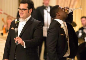 "Hart co-stars with Josh Gad in ""The Wedding Ringer,"" coming to theaters in January."