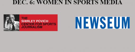 Merrill College, Newseum host Women in Sports Media Panel