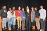 The Congressman with members of Community Roots