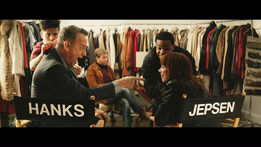 Tom Hanks Stars in New Carly Rae Jepsen Music Video