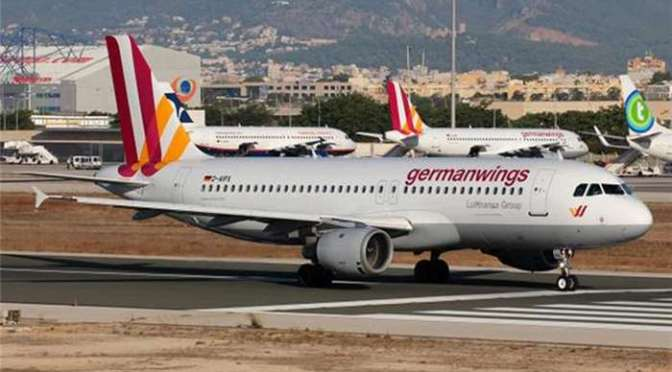 German Plane Deliberately Crashed in French Alps