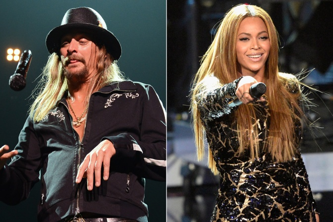 Beyhive attacks Kid Rock after he rips into Beyonce (Opinion)