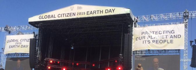 Thousands Attend Global Citizen Earth Day Rally on the National Mall