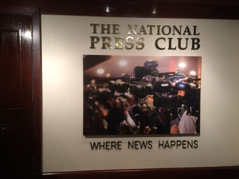 The National Press Club in D.C.