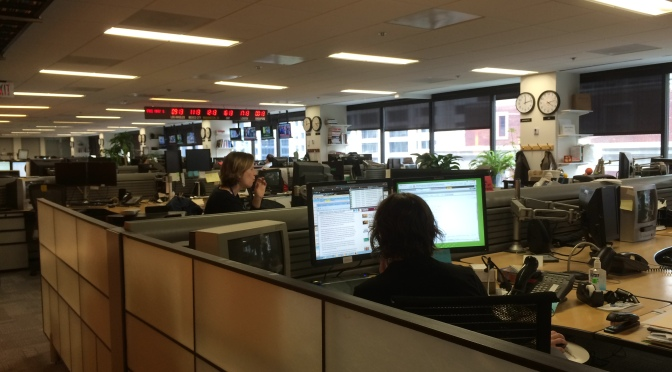 A UMD Student's One Day Internship at Reuters