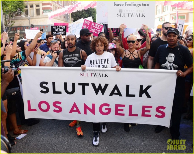 Embrace the Shame: Amber Rose Slutwalk
