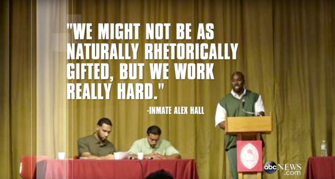 Three New York Inmates Beat Harvard Debate Team, Show that Education in Prisons is Beneficial