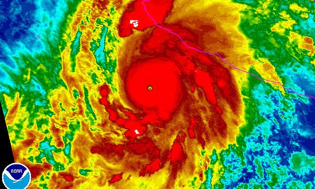 Hurricane Patricia Weakens As It Goes Through Mexico