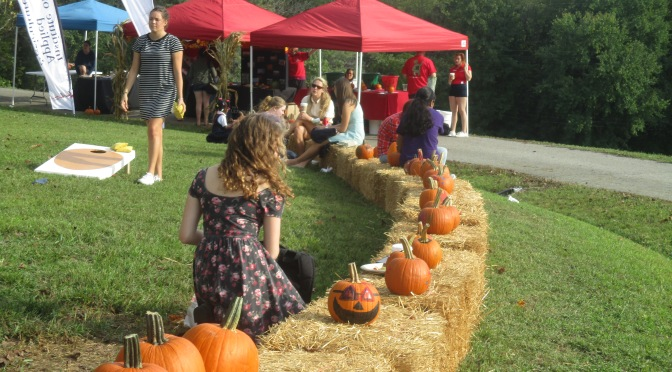 The Terp Farm Fall Harvest Festival: looking at the food on our plates