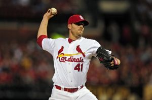 Cardinals starter John Lackey. Courtesy of Google Images