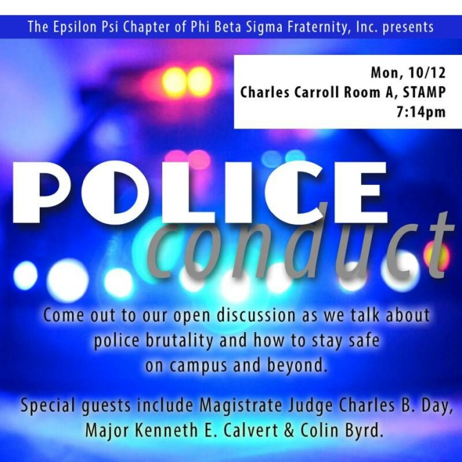 Phi Beta Sigma Hosts Panel to Discuss Police Brutality