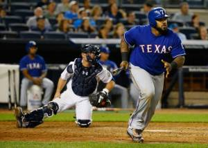 Rangers first baseman Prince Fielder. Courtesy of the Dallas Morning News.