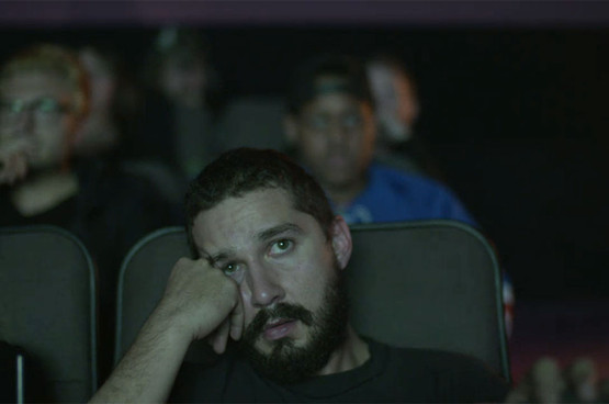 Shia LaBeouf Live Streams Himself Watching His Movies for Three Straight Days