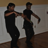 University of Maryland's Dynamic Dance Team members practicing before the show. Mya Green/Pulsefeedz Nov. 3
