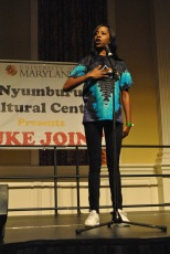 O-Slice performing at her last Juke Joint. Mya Green/Pulsefeedz Nov. 3