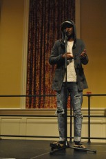 Manny Wellz singing. Mya Green/Pulsefeedz Nov. 3
