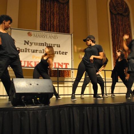 University of Maryland's dance group Dynamic performing. Mya Green/Pulsefeedz Nov. 3