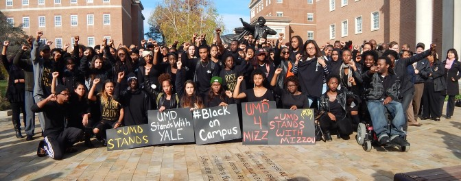 UMD Stands in Solidarity
