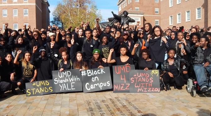 UMD Stands in Solidarity