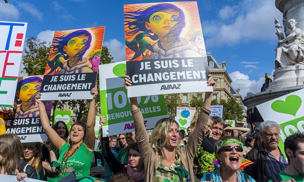 Hundreds of Thousands to Participate in Global Climate March