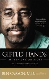 Courtesy of Amazon: Carson's autobiography Gifted Hands was published in 1996. A movie based on the book came out in 2009.