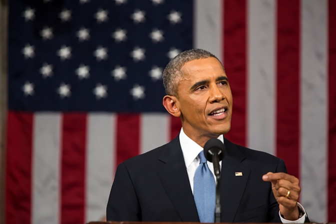 President Obama delivers his sixth State of the Union on Jan. 20, 2015. Courtesy: Pete Souza [Public domain], via Wikimedia Commons