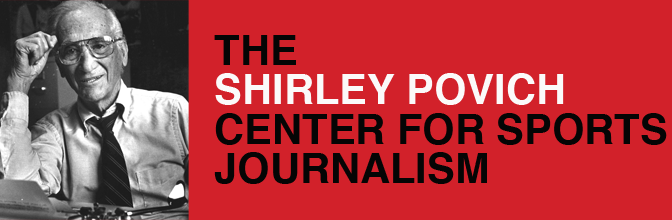 Povich Center Hosts Symposium to Discuss Changes in Sports Writing