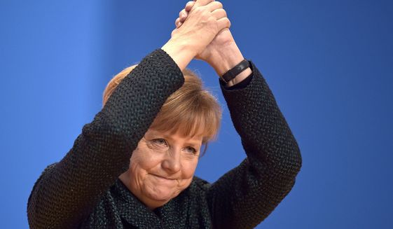 Angela Merkel Named Time 'Person of the Year'