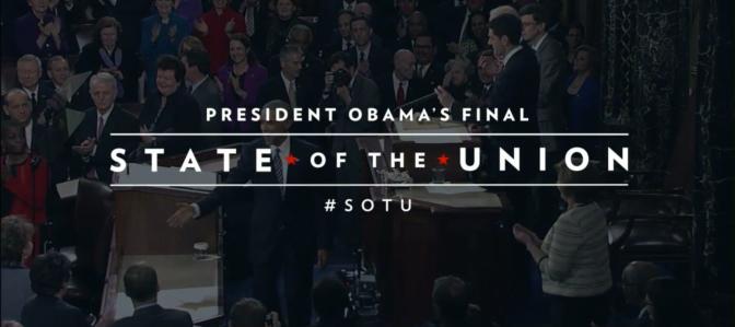 President Obama Looks Forward In Final SOTU